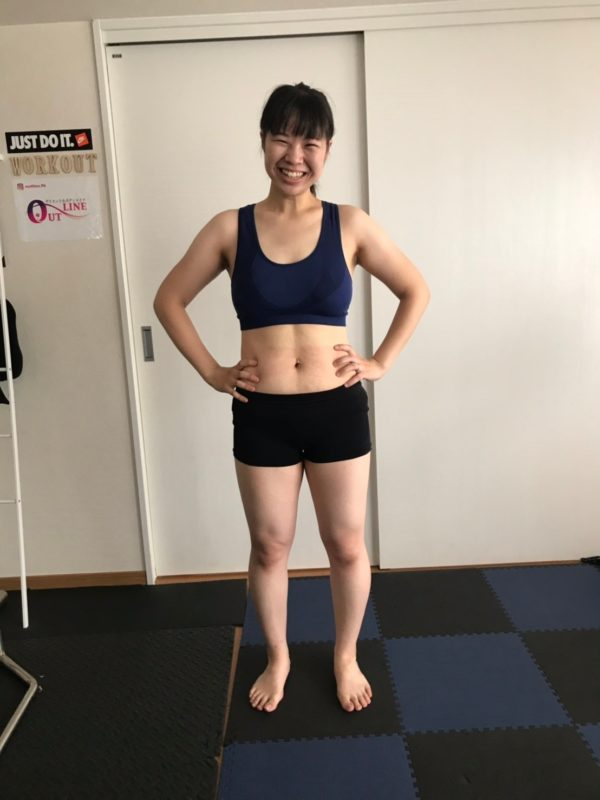 横浜のパーソナルトレーニングジムのモニター様